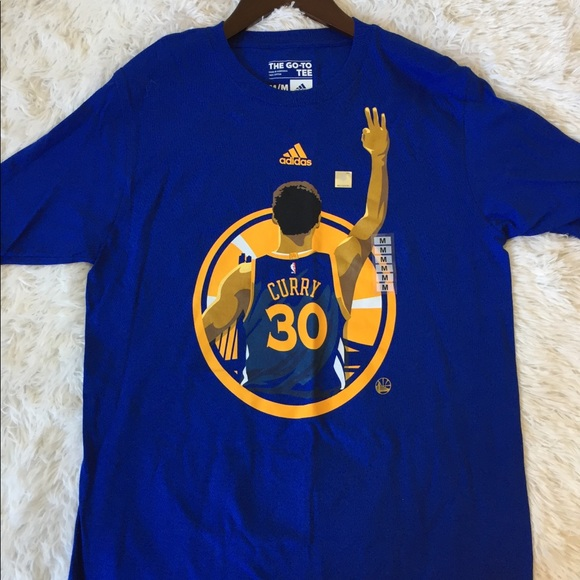 huge selection of ad593 88f92 NWOT Adidas Stephen Curry Go-To Tee